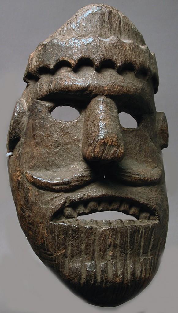 Nepal Shaman Wood Mask 171 Ethnix