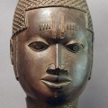 BRONZE QUEEN MOTHER BENIN