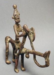 Bronze Horse Dogon Djenne Mali 171 Ethnix
